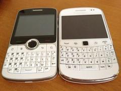 BlackBerry Bold 9000 & Huawei U8350