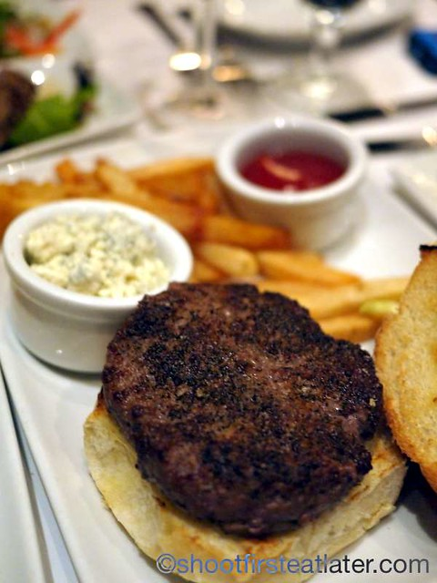 Ruth's Chris Sizzle, Swizzle & Swirl Happy Hour- Prime Burger with Fries