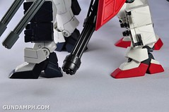 MG 1-100 Gundam HeavyArms EW Unboxing OOTB Review (129)