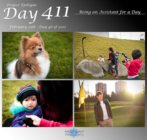 Day 411 - Being an Assistant for a Day