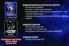 Gundam Philippines Building and Detailing Contest in Robinsons Manila March 2012