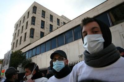 Contro l'aria irrespirabile di Taranto - foto di Giuseppe Carucci