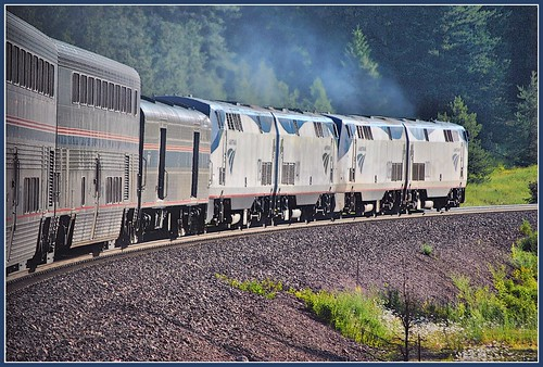 Empire Builder Eastbound @ Coram  MT by Loco Steve