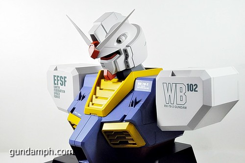 MSG RX-78-2 Bust Type Display Case (Mobile Suit Gundam) (26)