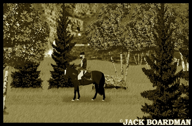 A new lawman arrived in Moosehead County ©2012 Jack Boardman