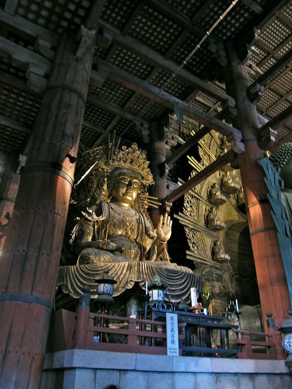 Inside the Todai-ji