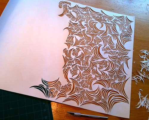 Work-in-progress: Paper cut design