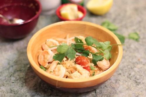 Vegetarian Thai Green Papaya Salad