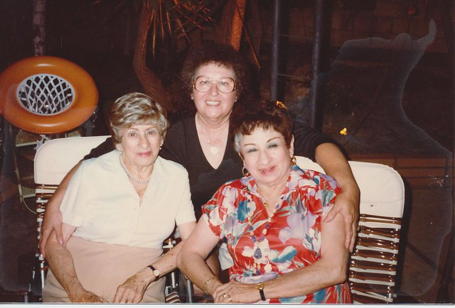 Lucille with her aunts Leila and Edith