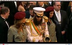Oscar 2012 - Sacha Baron Cohen - The Dictator - pix 21