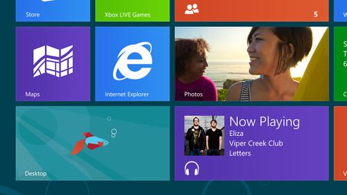 Tile Desktop untuk menampilkan antarmuka Desktop seperti Windows 7 - Windows 8 Consumer Preview