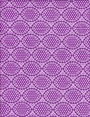 (Purple) Anthology Fabrics Bonjour Oval Eyelet in Purple