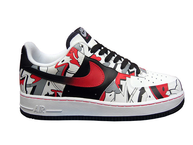 "Nike ""Sinner"" Air Force 1 2012"