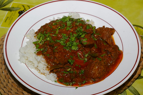 Lamb and methi curry by La belle dame sans souci