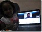 Valentine over Skype