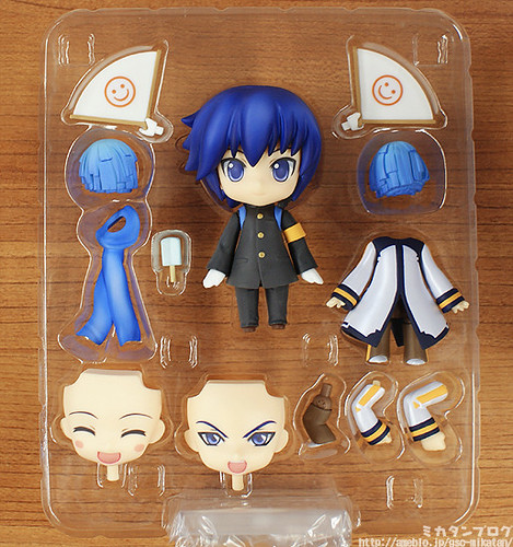 Nendoroid KAITO: Cheerful version