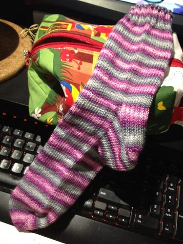 Bonnie & Clyde Sock