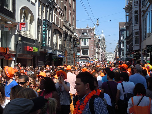 Queen's Day on Leidsegracht