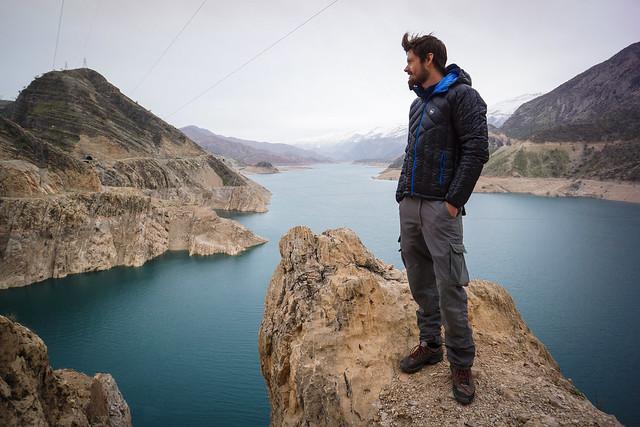 Leon at Karun 3 Lake