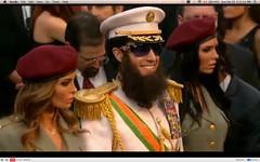 Oscar 2012 - Sacha Baron Cohen - The Dictator - pix 14