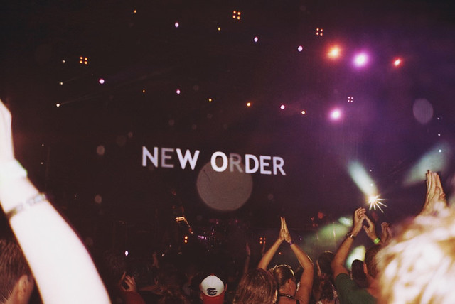 New Order @ Future Music Festival