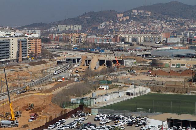 Zona de los viales de Sant Andreu - 13-03-2012