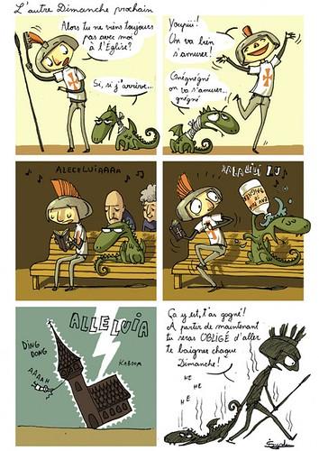 BD Saint Georges et le Dragon