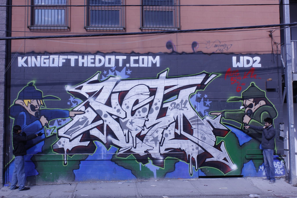 Graffiti kingofthedot