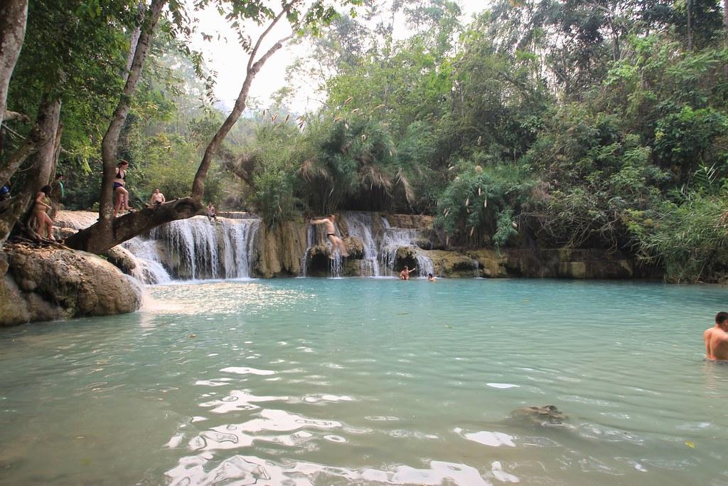 Kuang Si Falls - Luang Prabang, Laos