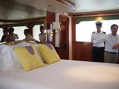 Bed Room, Sea Bear, Boat Asia 2012, Marina @ Keppel Bay