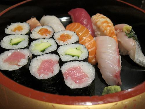Assortit de sushi