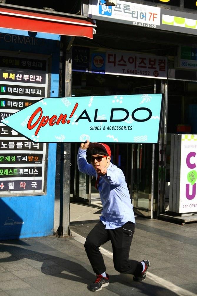 首爾廣告舉牌人