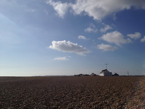 The houses on Shingle Street