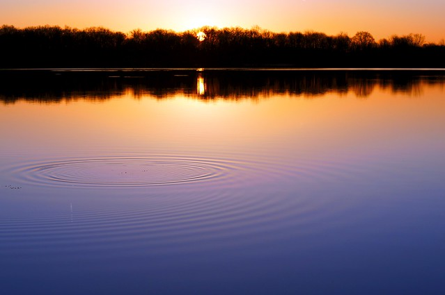 Sunrise Ripples