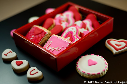 Valentine's Love Letter Cookie Box