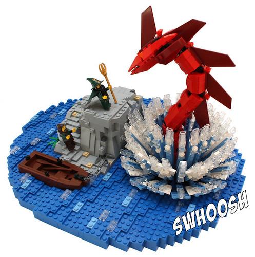 The summoning of the Sea serpent