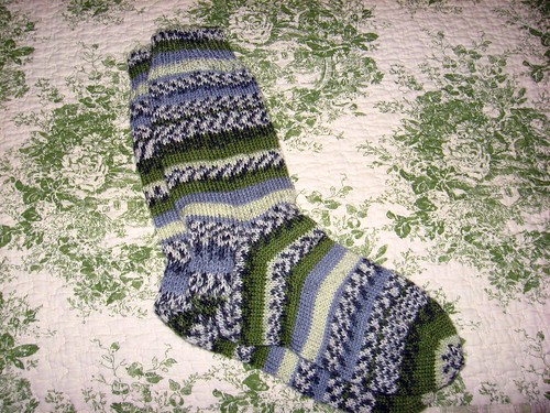 Socks from Graham's yarn by mlzafron