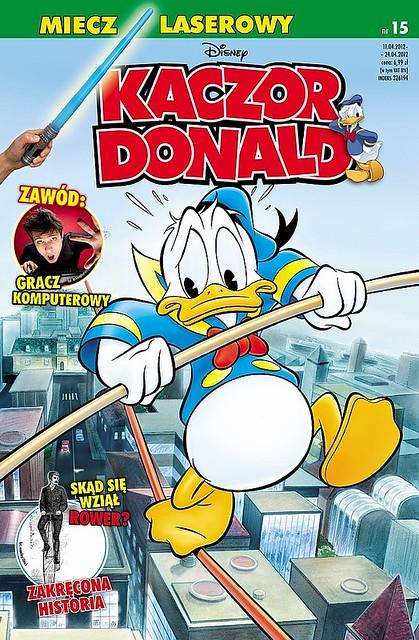 Kaczor Donald dwutygodnikiem.