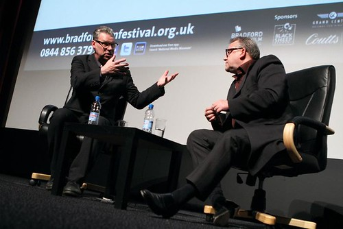 Mark Kermode and Ray Winstone