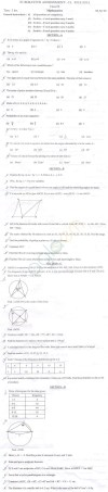 CBSE Class 9 Question Paper 2014 Maths SA2