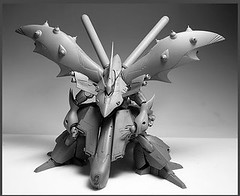 Resin Kit 1100 Nightingale  Neograde Refined Version Built (17)