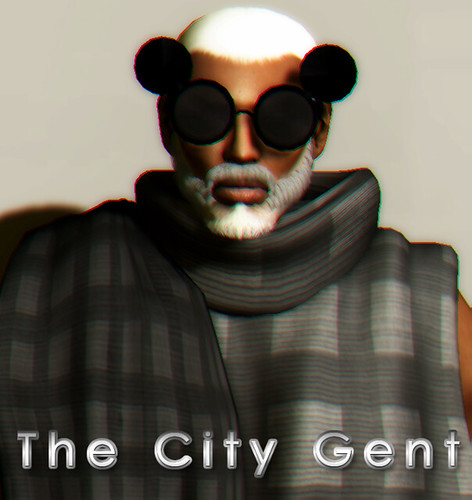 The City Gent - The Future is Black Page 1 by Agustin Wonder