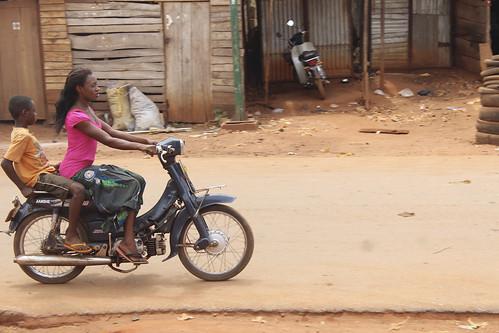Iheaka Enugu Nigeria Female Motorcyclist by Jujufilms