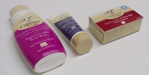 Caprina New Products