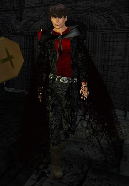 CERO STYLE - Supernatural 3 Pants, Shirt and Cape