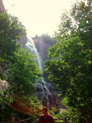 Falls at Chimney Rock