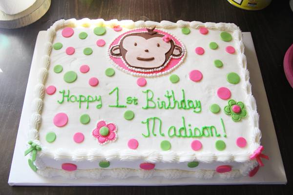 Madison's 1st Birthday