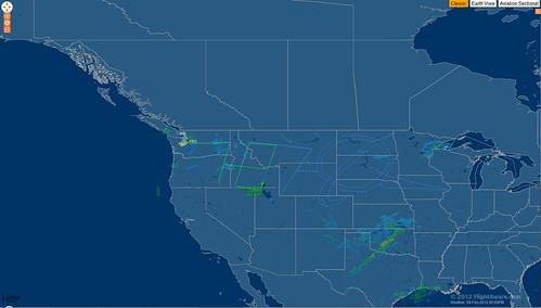 BOE236 787 drawing a Boeing logo on FlightAware