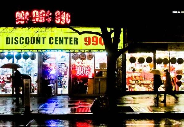 99 Cents & a Lot of Rain