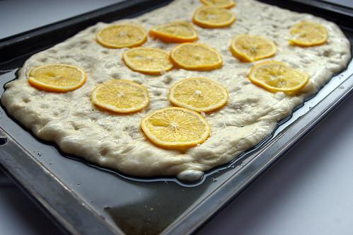 Meyer Lemon Focaccia I